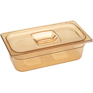 Rubbermaid® Hot Food Pan 6`,218P] Rubbermaid® Commercial 1/3 Size Hot Food Pan - 5 3/8 Qt