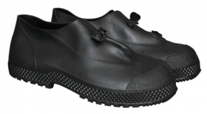 MDS Economy 4` PVC Slip-On Over Boots. Black.