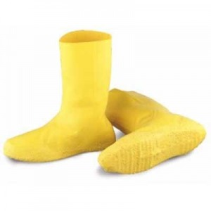 BCRBR Keystone® Yellow Latex HazMat Protective Boot Covers