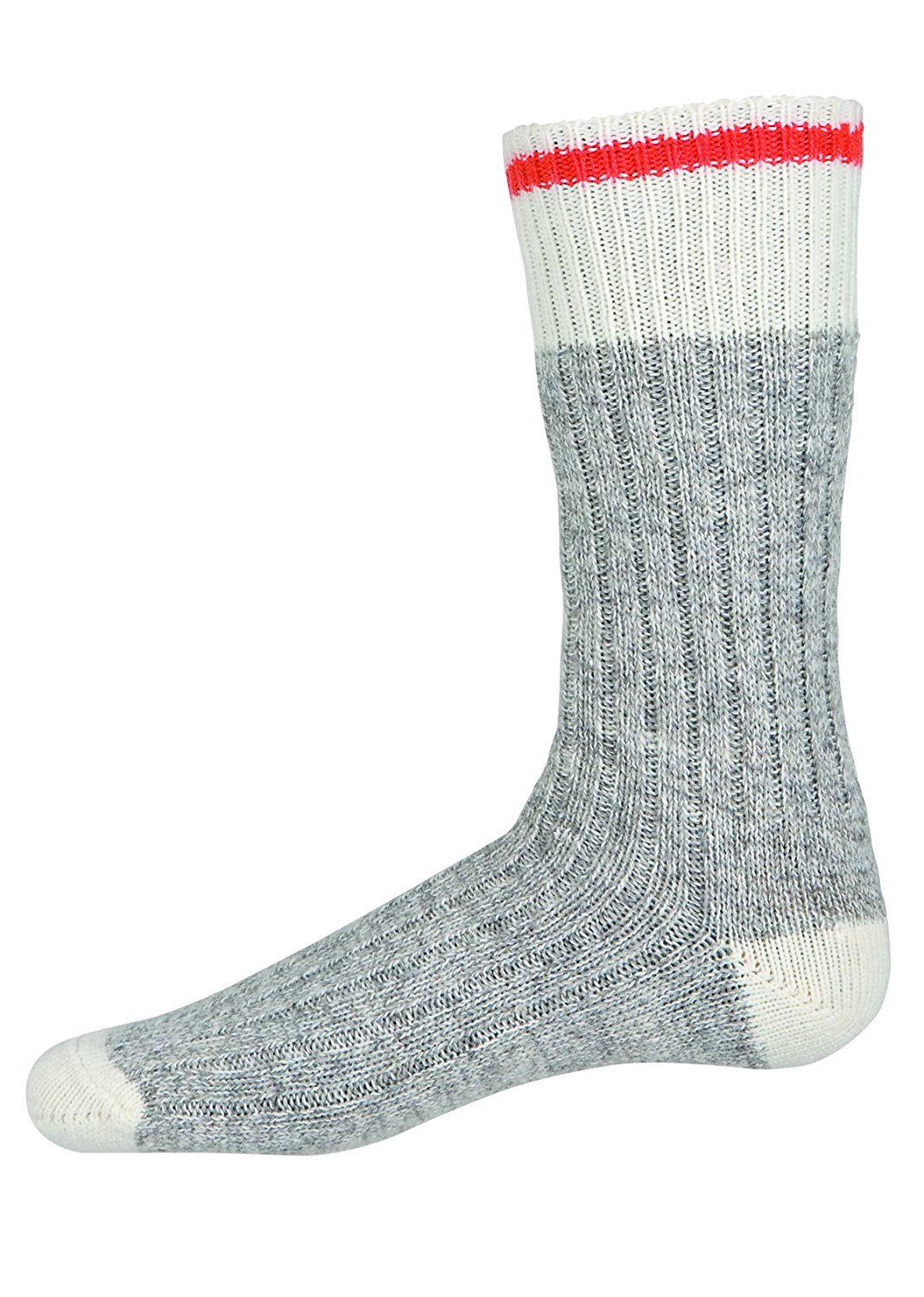 MEGAComfort® MEGASock™ Men's Grey Industrial Work Socks