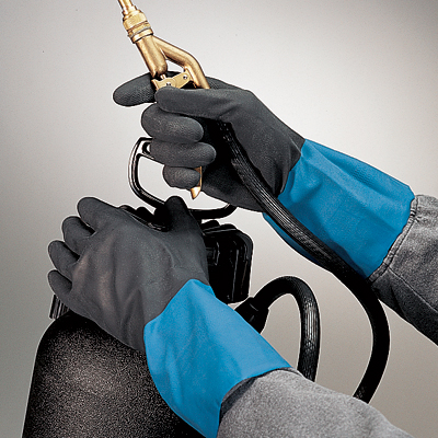 CHM Showa Best® Chem Master™ Unsupported Chemical-Resistant Neoprene Gloves