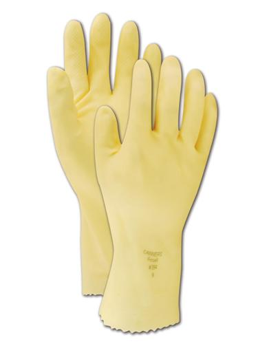 88390 Ansell® Unsupported Technicians Chemical-Resistant Gloves w/ Pebble Finish