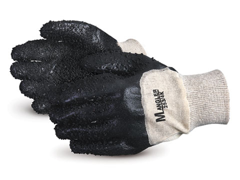 253/4K Superior®  Mangler PVC Chip Coated Water Resistant Work Gloves
