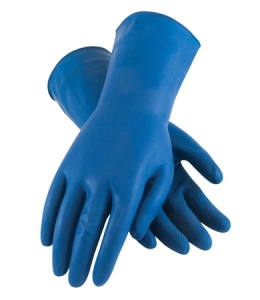 47-L171B PIP® Assurance® Unsupported Unlined 18-mil Chemical-Resistant Latex Gloves