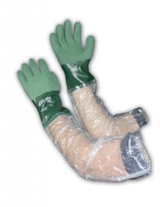 56-AG567 PIP®  ActivGrip™ Nitrile Coated Chemical-Resistant Glove w/ Attached PVC Sleeve
