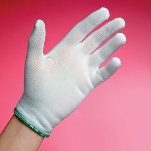 BCR® Full-Finger Cleanroom Polyester Glove Liners