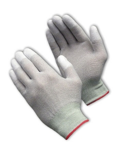 40-6416 PIP® CleanTeam® Seamless ESD Coated Nylon Cleanroom Gloves