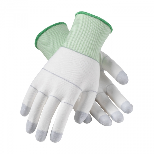 40-C125 PIP® CleanTeam® Knit Nylon Gloves w/ PU Coated Palms