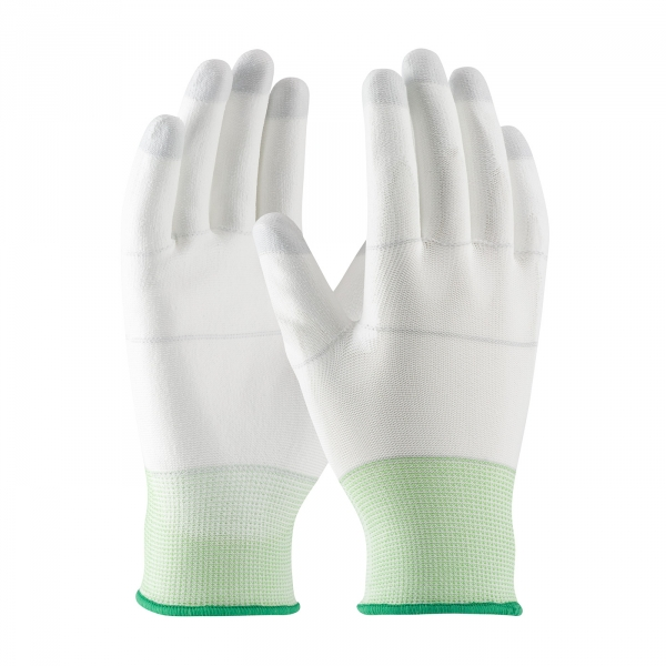 PIP CleanTeam® Knit Nylon Gloves w/ PU Coated Palms