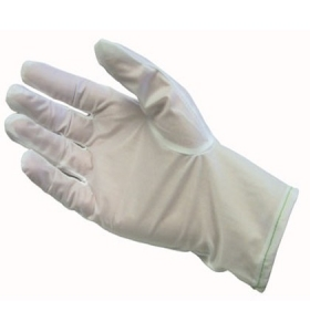 Stat-Tek® Lint Free Nylon Fabric ESD Gloves, Coated Palm, 996457 PIP CleanTeam® Stat-Tek® Coated ESD Cleanroom Gloves