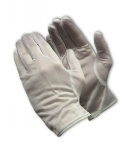 Stat-Tek® Lint Free Nylon Fabric ESD Gloves, Uncoated, 996458 PIP CleanTeam® Stat-Tek® ESD Cleanroom Gloves