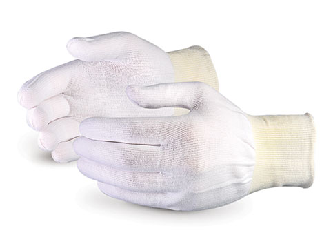 #STN220 - Superior Glove® Sure Knit® Ultra-thin Seamless Nylon Cleanroom Gloves