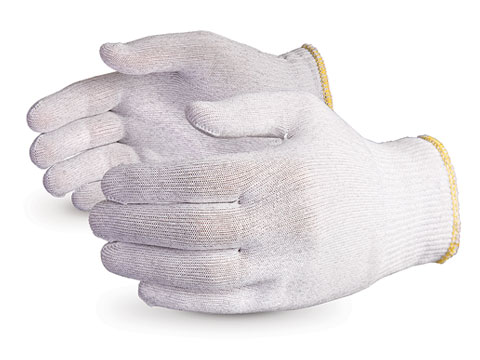 #STNCF - Superior Glove® Featherweight Anti-Static Filament Nylon Cleanroom ESD Gloves