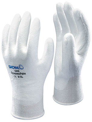 Showa 540 Showa® High Performance Polyethylene Coated Cut-Resistant  Protective Gloves. Cut level 2.
