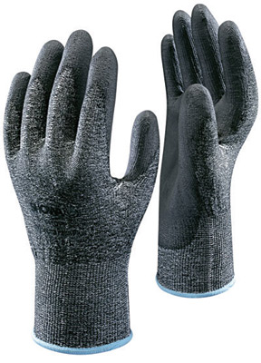 Showa 541 Showa® High Performance Polyethylene Coated Cut-Resistant  Protective Gloves. Cut level 2.