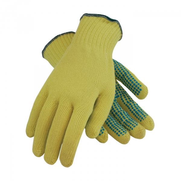 PIP® Kut-Gard® Light Weight Kevlar® Glove w/ PVC Dot Grip #08-K200PD