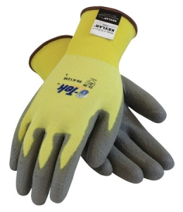 Kevlar® Gloves with polyurethane Grip