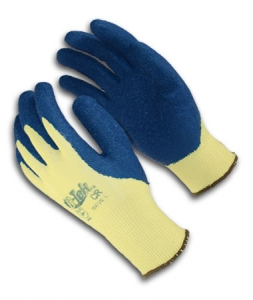 #09-K1310 PIP G-Tek® KEV™ Kevlar® Latex Coated Cut-Resistant Protective Work Gloves w/ Crinkle Coating. Cut level 3.
