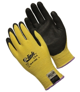 G-Tek™ CR, Kevlar knit with MicroSurface nitrile grip, 13 gauge, palm and fingers coated, medium weight, EN Cut Level 3