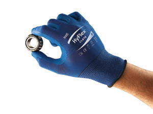 11818 Ansell® HyFlex® 11-818 FORTIX™ Blue Coated Protective Blue Nylon Spandex Knitted  Gloves