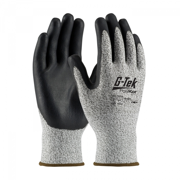 PIP G-Tek® PolyKor™ Nitrile Coated Gloves #16-334