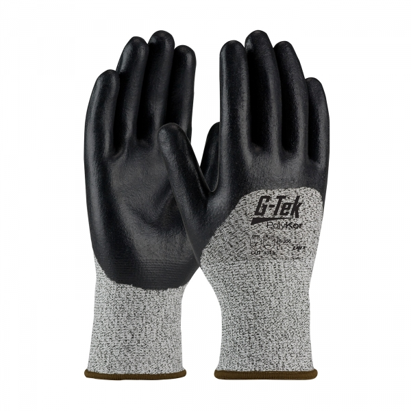 PIP G-Tek® PolyKor™ Nitrile Coated Gloves #16-355