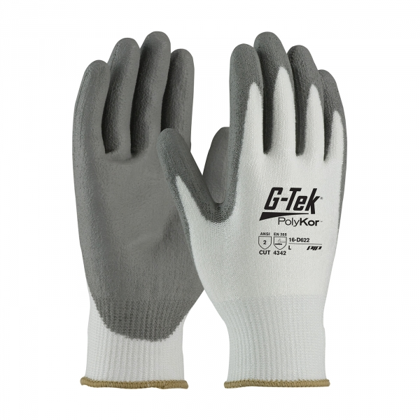 #16-D622 PIP® G-Tek® PolyKor™ Polyurethane Coated Gloves