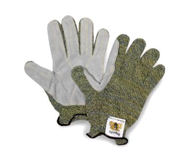KV1855 Sperian® Top Dog™  Cut-Resistant Protective Work Gloves w/ Leather Palm. Cut level 4.