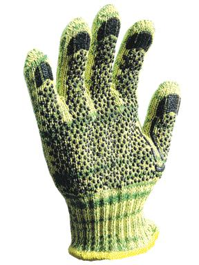 1881] Wells Lamont® Whizard® MetalGuard® Cut-Resistant Protective Work Gloves w/  PVC Dots Coating. Cut level 5.