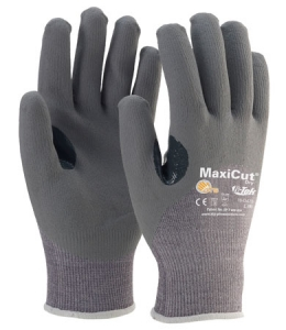 #19-D470 PIP G-Tek® MaxiCut® 5 Dry Coated Cut-Resistant Dyneema® Work Gloves, Cut level 4