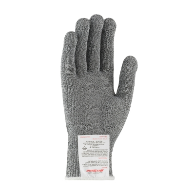 #22-760G PIP® Kut-Gard® Polyester over Dyneema® / Silica / Stainless Steel Core Antimicrobial Glove - Medium Weight, Gray