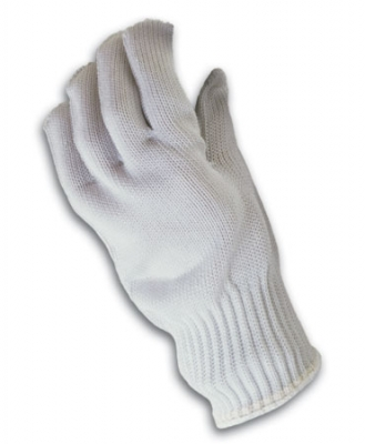 PIP Kut-Gard® PolyKor Polyester over Stainless Steel Core Seamless Glove - Medium Weight