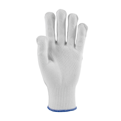 #22-760 PIP® Kut-Gard® Polyester over Dyneema® / Silica / Stainless Steel Core Antimicrobial Glove - Medium Weight, White