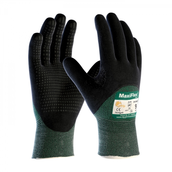#34-8453 PIP® MaxiFlex® Cut™ Seamless Cut Resistant Gloves w/ Premium Nitrile Coated Micro-Foam Coated Palm, Fingers and Knuckles
