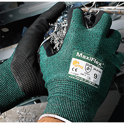 Cut Level A2 Industrial Work Gloves