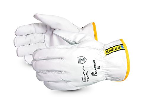 Endura 174 Kevlar Lined Goat Grain Leather Gauntlet Gloves