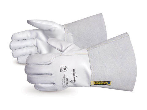 399GKGL5 Superior® Endura® Goat Grain Cut Resistant Driver Gloves w/ Kevlar®/Composite Filament Fiber Lining and Gauntlet Cuff