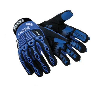 Chrome Series 4024 Mechanic Gloves Cut Resistant Anti