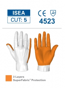 6044 HexArmor® PointGuard™ X Cut & Needlestick Resistant Protective Work Gloves, cut level A9
