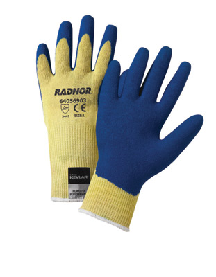 Economy Coated String Knit Cut-Resistant Gloves, cut level 2
