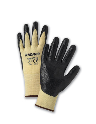 Coated Kevlar/Lycra Cut Resistant Gloves, Economy Coated String Knit Cut-Resistant Gloves, cut level 1