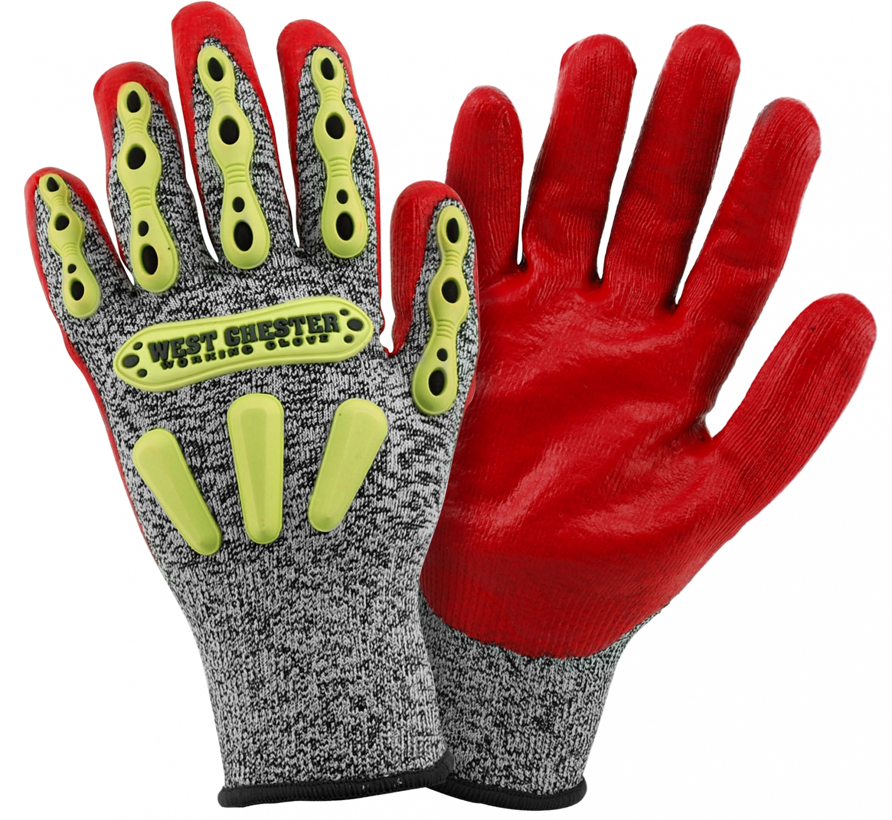 713SN Westchester R2 FLX Knuckle Protection Coated Cut-Resistant Work Gloves, cut level 2