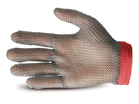 Universal Five Finger Chainmail Glove Stainless Steel