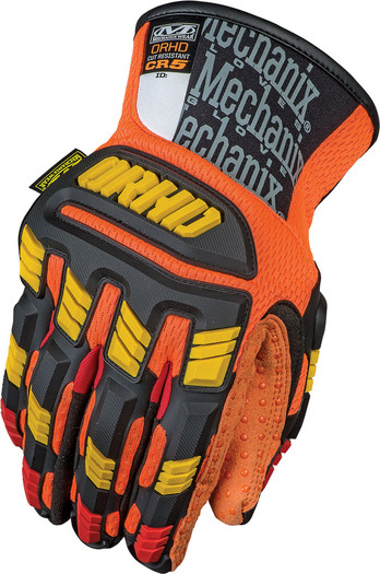 MF1ORHD-CR Mechanix Wear® ORHD® CR5 Impact Gloves w/ PVC Dotted Palm