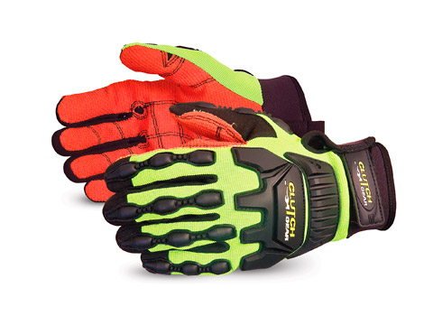 Superior® Glove Clutch Gear® Fully-Lined Oilfield Glove with Armortex® Palm #MXVSBAFL