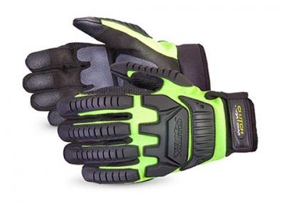 #MXVSBPB Superior Glove® Clutch Gear® Impact Protection Mechanics Glove Lined with Punkban™