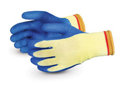 S10KLX Superior Glove® Powergrab® 10-gauge Kevlar® Cut & Puncture Resistant Knit Work Gloves with Latex Palms
