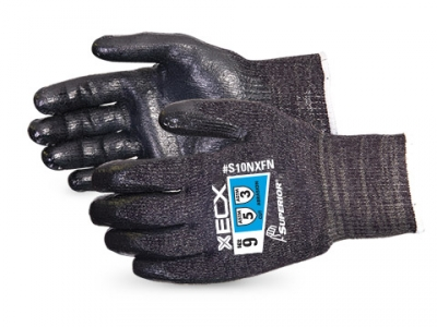 S10NXFN Superior® Emerald CX® 10-Gauge Cut-Resistant Work Glove with Nitrile Palm