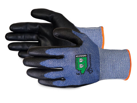 #S13TAFGPU Superior Glove® TenActiv™ Composite Knit Cut-Resistant Polyurethane Dipped Gloves