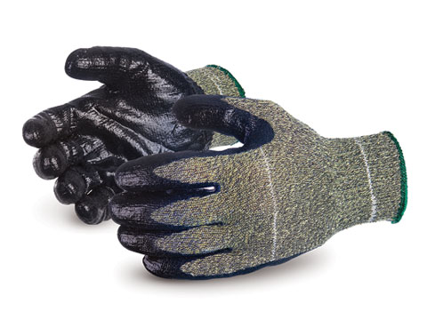 SCXSMNT- Superior® Emerald CX® Series Kevlar® Wire-Core Puncture and Cut Resistant Work Gloves